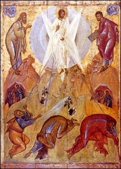 Преображення Господнє. Феофан Грек